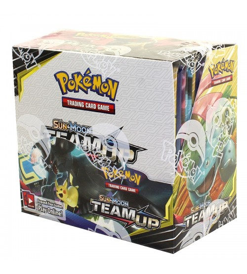 Pokemon Sun & Moon Team Up Booster Box, 36/Pack
