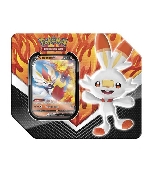 Pokemon Galar Partners Cinderace Tin