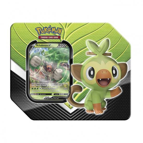 Pokemon Galar Partners Rillaboom Tin