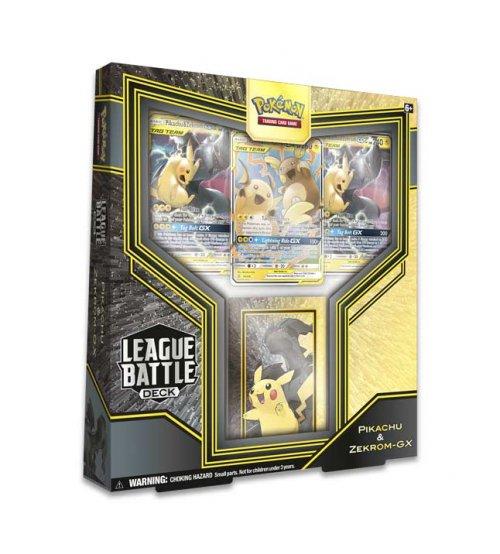 Pokemon League Battle Deck: Pikachu & Zekrom-GX