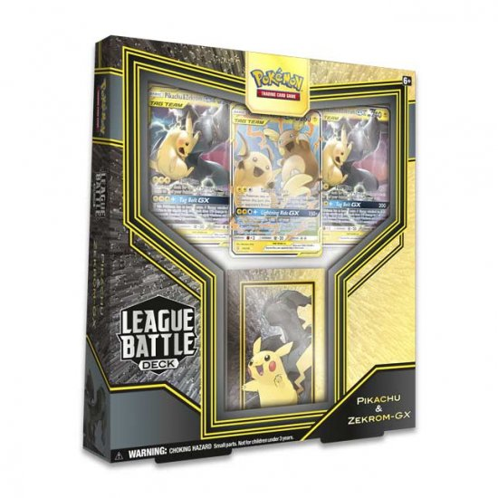 Pokemon League Battle Deck: Pikachu & Zekrom-GX