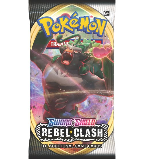 Pokemon Sword & Shield Rebel Clash 10-Card Booster Pack
