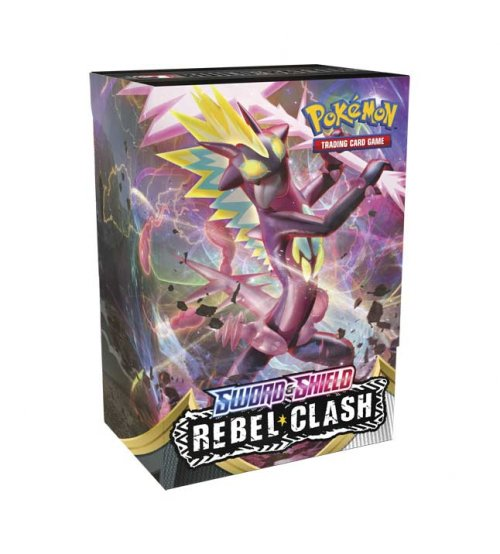 Pokemon Sword & Shield Rebel Clash Build and Battle Box
