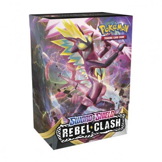 Pokemon Sword & Shield Rebel Clash Build and Battle Box