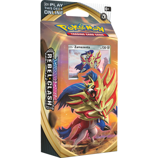 Pokemon Sword & Shield Rebel Clash Zamazenta Theme Deck