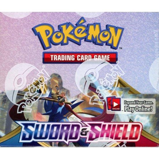 Pokemon Sword & Shield Booster Box, 36/Pack