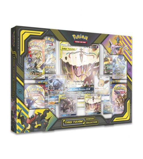 Pokemon Tag Team Powers Collection Espeon & Deoxys-GX Box