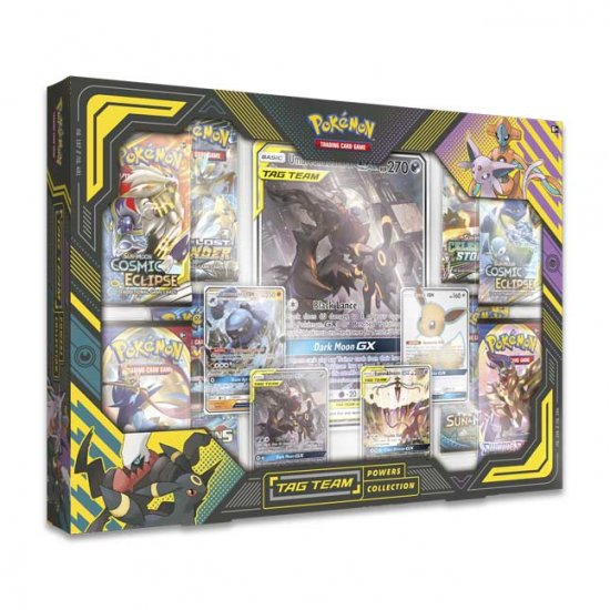 Pokemon Tag Team Powers Collection Umbreon & Darkrai-GX Box