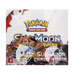Pokemon Sun & Moon Crimson Invasion Booster Box, 36/Pack