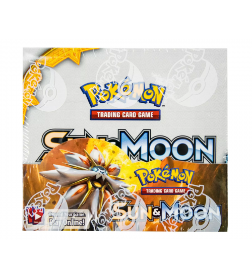 Pokemon Sun & Moon Base Set Booster Box, 36/Pack