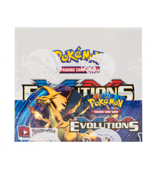 Pokemon XY Evolutions Booster Box, 36/Pack
