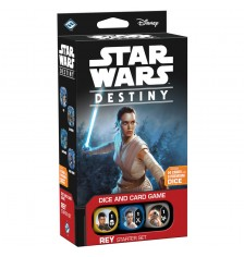 Star Wars: Destiny Dice & Card Game - Rey - Starter Set