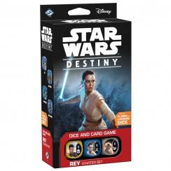 Star Wars: Destiny Dice & Card Game - Rey - Starter Set