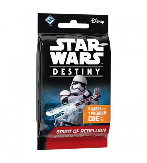 Star Wars™ Destiny Spirit of Rebellion Dice & Card Booster Pack