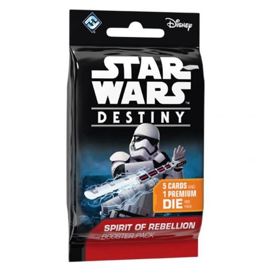 Star Wars™ Destiny Spirit of Rebellion Dice & Card Booster Pack