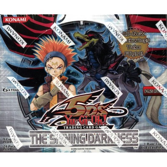 Yu-Gi-Oh 5D's The Shining Darkness Booster Box, 24/Pack