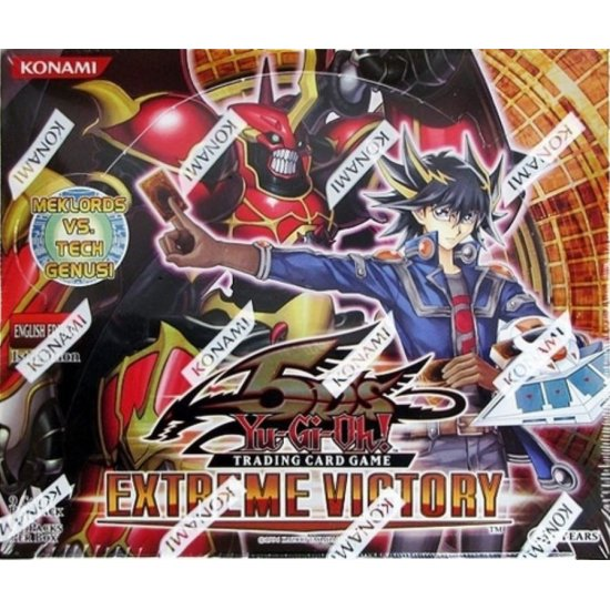 Yu-Gi-Oh 5D's Extreme Victory 1st Edition Booster Box, 24/Pack