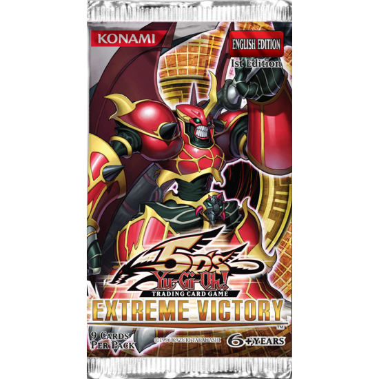 Yu-Gi-Oh 5D's Extreme Victory 1st Edition 9-Card Booster Pack