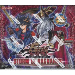 Yu-Gi-Oh 5D's Storm of Ragnarok 1st Edition Booster Box, 24/Pack