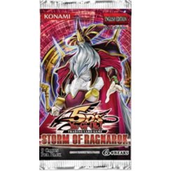 Yu-Gi-Oh 5D's Storm of Ragnarok 1st Edition 9-Card Booster Pack