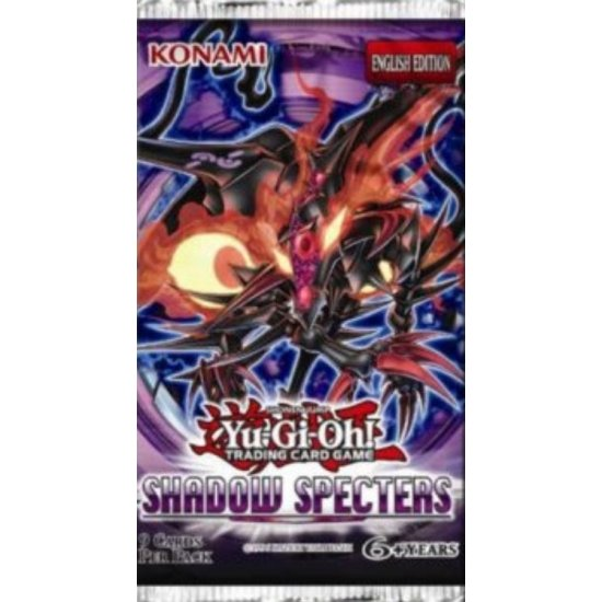 Yu-Gi-Oh ZEXAL Shadow Specters 9-Card Booster Pack