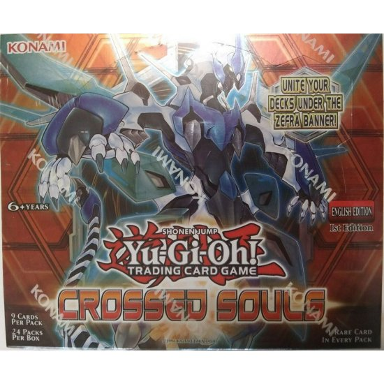 Yu-Gi-Oh Crossed Souls 1st Edition Booster Box, 24/Pack
