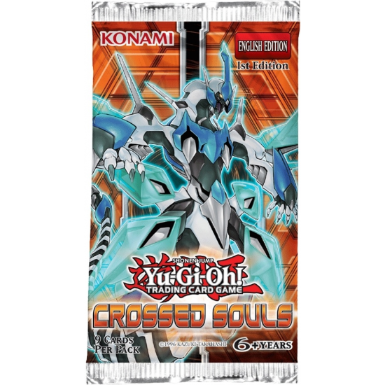 Yu-Gi-Oh Crossed Souls 1st Edition 9-Card Booster Pack