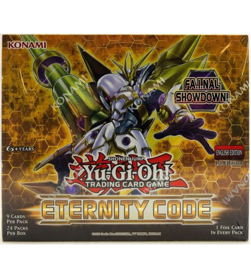Yu-Gi-Oh Eternity Code Booster Box, 24/Pack