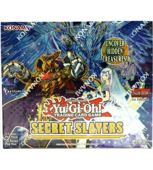 Yu-Gi-Oh Secret Slayers Booster Box, 24/Pack