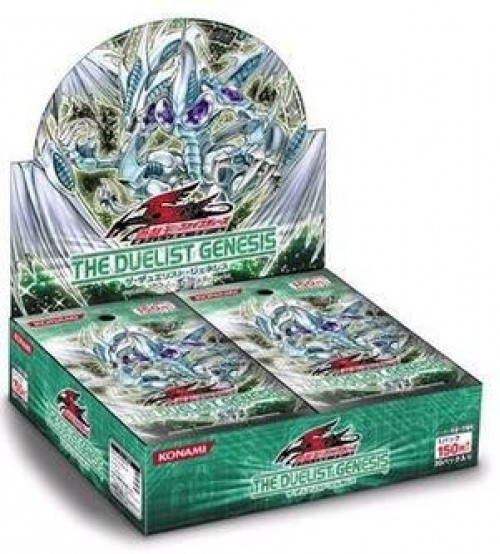 YuGiOh 5Ds The Duelist Genesis TDGS Booster Box, 24/Pack