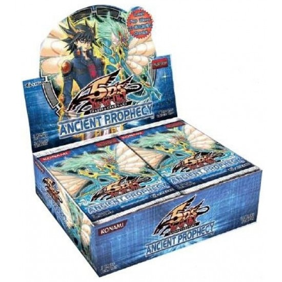YuGiOh 5D's Ancient Prophecy Booster Box, 24/Pack