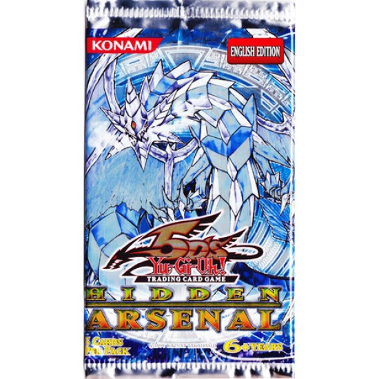 Yu-Gi-Oh Booster Pack - Hidden Arsenal