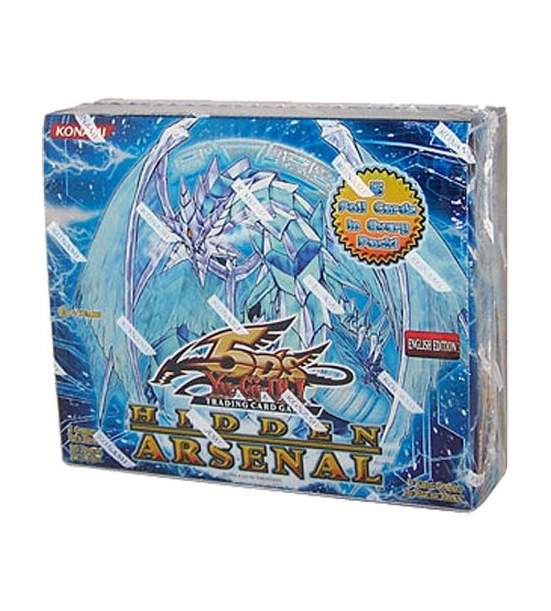 YuGiOh 5Ds Hidden Arsenal HA01 Booster Box, 36/Pack