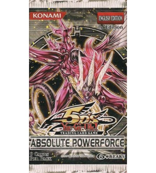 Yu-Gi-Oh Booster Pack - Absolute Powerforce
