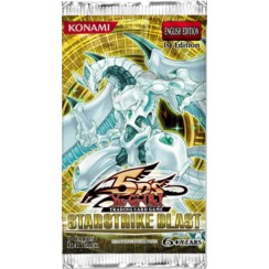 YuGiOh 5Ds Starstrike Blast STBL 1st Edition 9-Card Booster Pack