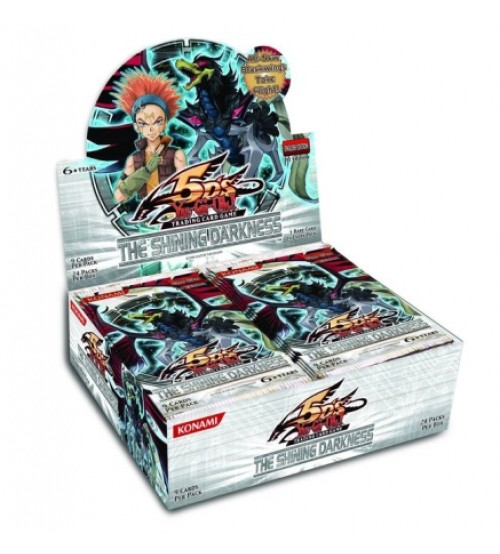 YuGiOh 5Ds The Shining Darkness TSHD 1st Edition Booster Box, 24/Pack
