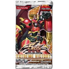 YuGiOh 5Ds Extreme Victory EXVC 1st Edition 9-Card Booster Pack