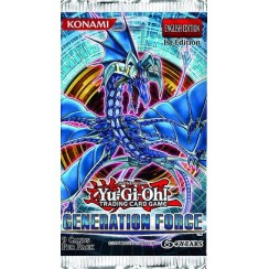 Yu-Gi-Oh Booster Pack - Generation Force