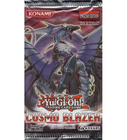 Yu-Gi-Oh Booster Pack - Cosmo Blaster