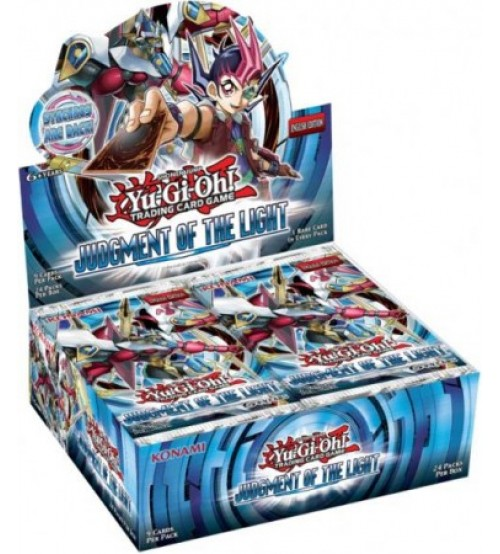 YuGiOh Judgment of the Light JOTL 1st Edition Booster Box, 24/Pack