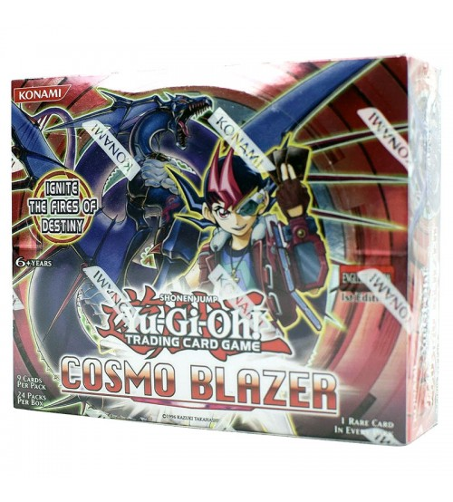 YuGiOh Cosmo Blazer CBLZ 1st Edition Booster Box, 24/Pack