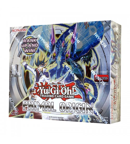 YuGiOh Primal Origin PRIO 1st Edition Booster Box, 24/Pack