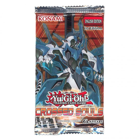 YuGiOh Crossed Souls CROS 1st Edition 9-Card Booster Pack