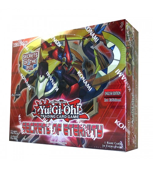 YuGiOh Secrets of Eternity SECE 1st Edition Booster Box, 24/Pack