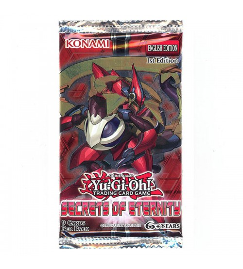 YuGiOh Secrets of Eternity SECE 1st Edition 9-Card Booster Pack