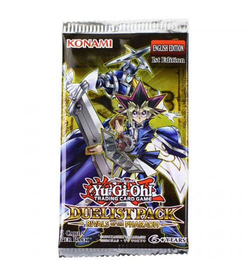 YuGiOh Duelist Pack Rivals of the Pharaoh DPRP 1st Edition 5-Card Booster Pack