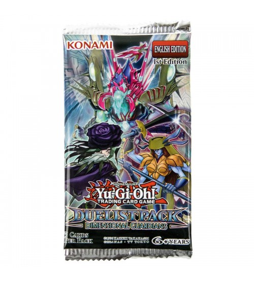 Yu-Gi-Oh Duelist Pack: Dimensional Guardians 1st Edition 5-Card Booster Pack