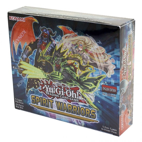 Yu-Gi-Oh Spirit Warriors 1st Edition Booster Box, 24/Pack