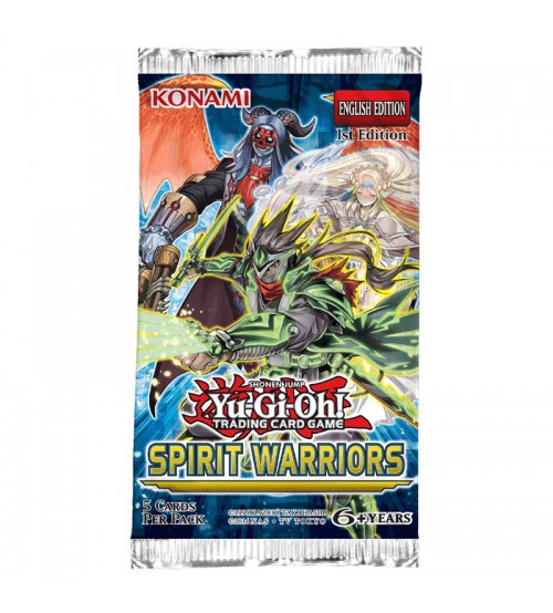YuGiOh Spirit Warriors SPWA 1st Edition 9-Card Booster Pack