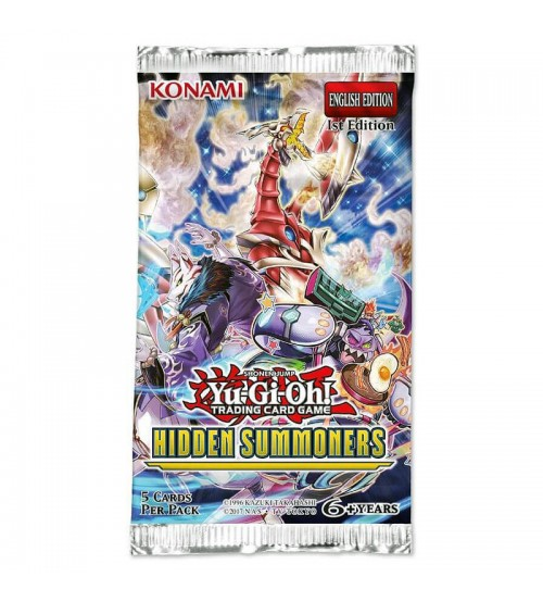 YuGiOh Hidden Summoners HISU 1st Edition 9-Card Booster Pack